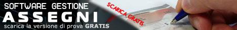 Gestione Asegni 3.0: scarica gratuitamente il software per la gestione completa dei tuoi assegni bancari