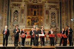 Nuova Orchestra Scarlatti – Per fiati, sabato 5 maggio 2012 ore 18,30 e replica domenica 6 ore 11.00 Museo Diocesano Napoli