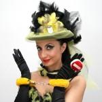 Maria Bolignano in  Caburlesc, dal 1 all'11 novembre 2012 al Teatro Totò di Napoli