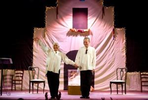 """Al via la stagione teatrale del Teatro Nuovo di Napoli con lo spettacolo """"Tà-Kài-Tà"""" di Enzo Moscato, con Isa Danieli ed Enzo Moscato"""