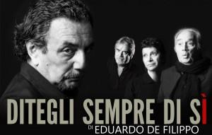 """Riapre il Teatro Politeama di Napoli. Dal 25 dicembre 2012 in scena """"Ditegli sempre di sì"""" con Gigi Savoia e Antonio Casagrande"""