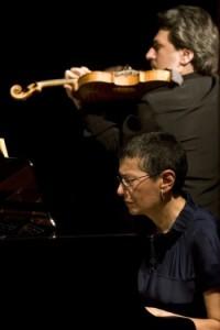 La pianista Laura de Fusco e il violinista Gabriele Pieranunzi al Teatro San Carlo di Napoli
