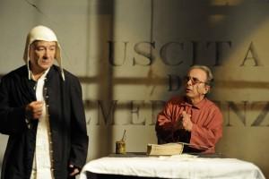 """""""Uscita di emergenza"""" di Manlio Santanelli al Piccolo Bellini dal 7 al 17 novembre 2013"""