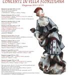 Al via la stagione 2013-2014 dei Concerti in Villa Floridiana