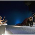 Una scena di Tempesta regia di Rosario Sparno