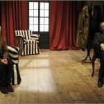 """Mario Porfito e Lello Serao in """"Disturbi di memoria"""" di Manlio Santanelli, dal 17 al 20 aprile 2014 al Teatro Elicantropo di Napoli"""
