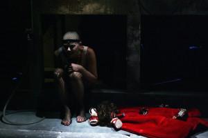 """Imma Villa in """"Scannasurice"""" di Enzo Moscato, al Teatro Elicantropo di Napoli dal 22 gennaio 2015"""