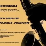 """""""Passi Musicali"""": concerto con passeggiata tematica musicale il 26 settembre 2015 al Palazzo Venezia di Napoli"""