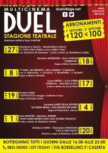 Al via la campagna abbonamenti per la stagione teatrale 2015-2016 del Duel Village di Caserta