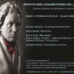 """""""Metti una sera a Palazzo Venezia con… Beethoven"""", il 17 ottobre 2015 al Palazzo Venezia di Napoli"""