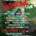 """""""Passione Live"""", da un'idea di John Turturro, il 29 dicembre 2015 al Palapartenope di Napoli"""