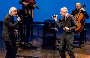 """""""La parola canta"""", con Peppe e Toni Servillo e i Solis String Quartet dal 5 al 17 gennaio 2016 al Teatro Bellini di Napoli"""