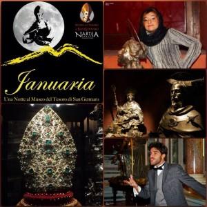 """Una Notte al Museo di San Gennaro con """"Januaria"""" di NarteA in occasione della Notte dell'Arte"""