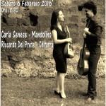 """""""Dialoghi tra le Corde"""", concerto di Carla Senese e Riccardo Del Prete, il 6 febbraio 2016 al Palazzo Venezia di Napoli"""