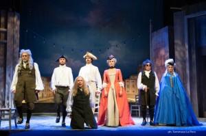 """""""Il bugiardo"""", di Carlo Goldoni, nell'adattamento firmato da Alfredo Arias e Geppy Gleijeses, dall'8 al 13 marzo 2016 al Teatro Mercadante di Napoli"""