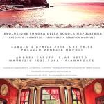 """""""Evoluzione Sonora della Scuola Napoletana"""", concerto e passeggiata tematica, il 2 aprile 2016 al Palazzo Venezia di Napoli"""