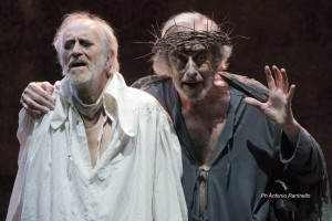 "Mariano Rigillo interpreta ""Re Lear"" di William Shakespeare, dal 20 aprile al 1° maggio 2016 al Teatro Mercadante di Napoli"
