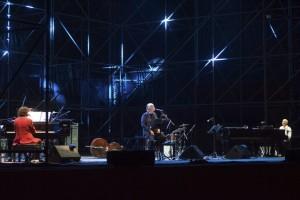 Recensione del concerto di Sergio Cammariere, Gino Paoli e Danilo Rea all'Arena Flegrea di Napoli