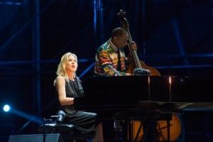 Recensione del concerto di Diana Krall all'Arena Flegrea di Napoli