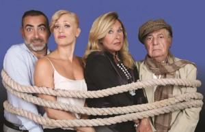 """""""Parenti stretti"""", di Cinzia Berni e Diego Ruiz, al Teatro Manzoni di Roma dal 27 ottobre al 20 novembre 2016"""