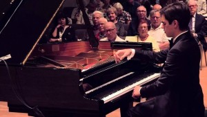Recital del talento francese Jean-Paul Gasparian, il 26 ottobre 2016 presso la Chiesa Luterana di Napoli