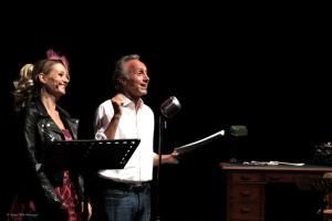 """Marco Travaglio e Giorgia Salari, diretti da Valerio Binasco, in """"Slurp"""", dal 18 al 20 novembre 2016 al Teatro Bellini di Napoli"""