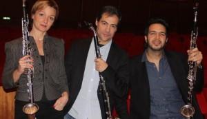 """""""Clarinet Trio"""", per l'Autunno Musicale 2016  della Nuova Orchestra Scarlatti, il 7 novembre presso la Chiesa dei SS. Marcellino e Festo di Napoli"""