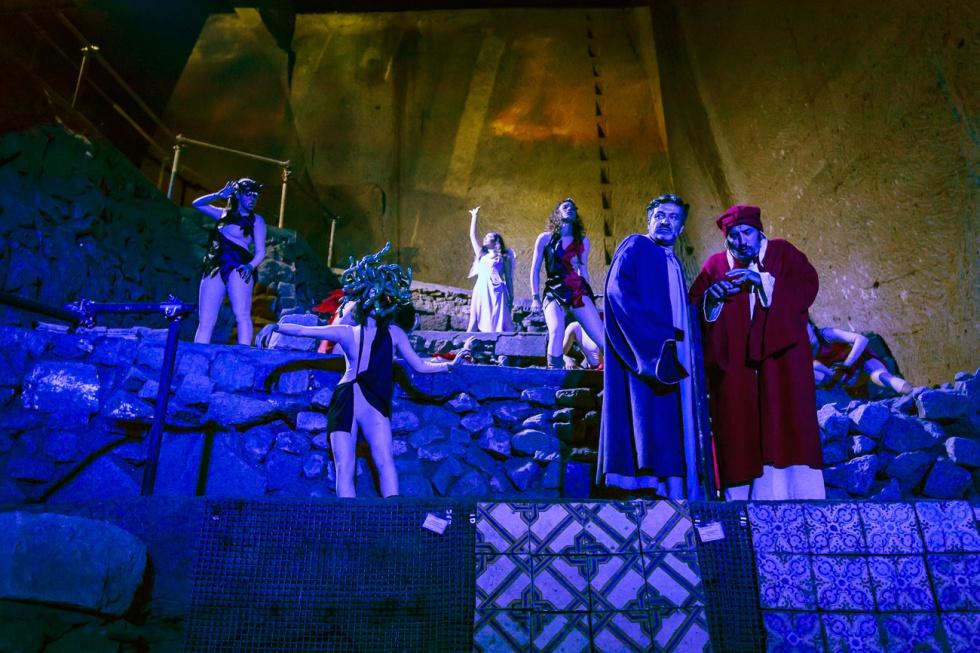 Dall'8 all'11 dicembre 2016 un weekend di festa al Museo del Sottosuolo di Napoli con le favole di Massimo Andrei e l'Inferno di Dante