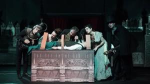 """""""Frankenstein 'o mostro"""", un musical de I Posteggiatori Tristi, dal 17 al 19 febbraio 2017 al Teatro Bellini di Napoli"""