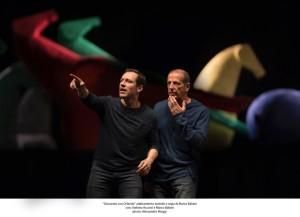 """Stefano Accorsi e Marco Baliani in """"Giocando con Orlando"""", dal 28 febbraio al 5 marzo 2017 al Teatro Bellini di Napoli"""