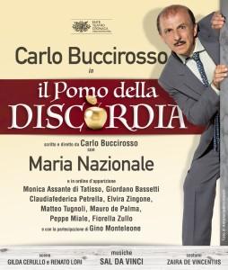 """Recensione dello spettacolo """"Il pomo della discordia"""", scritto e diretto da Carlo Buccirosso, al Teatro Diana di Napoli"""