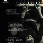 """""""Concerto per pianoforte e fugaci apparizioni allegoriche"""", Mimmo Napolitano alla Domus Ars di Napoli, il 19 marzo 2017"""