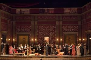 """Torna in scena per otto recite, dal 23 aprile al 5 maggio 2017, """"La traviata"""" di Giuseppe Verdi al Teatro San Carlo di Napoli"""