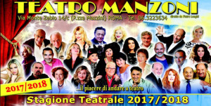 Presentata la stagione teatrale 2017/18 del Teatro Manzoni di Roma