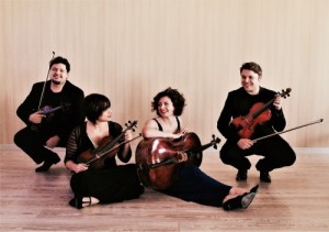 Quartetto 'Mitja' in concerto per la Primavera musicale della Nuova Scarlatti, il 23 giugno 2017 presso la Chiesa dei SS. Marcellino e Festo di Napoli