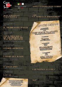 Presentata la Stagione 2017/2018 del Centro Teatro Spazio di San Giorgio a Cremano