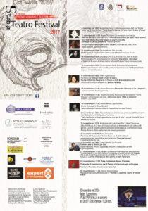 """Al via la quinta edizione dello Stabia Teatro Festival – Premio """"Annibale Ruccello"""", dall'8 al 30 novembre 2017 a Castellammare di Stabia"""