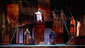 """""""Il nome della rosa"""", di Umberto Eco, nella versione teatrale di Stefano Massini, dal 21 al 26 novembre 2017 al Teatro Bellini di Napoli"""