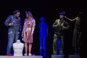 """""""Quel gran pezzo della Desdemona"""", scritto e diretto da Luciano Saltarelli, dal 28 novembre al 3 dicembre 2017 al Teatro Bellini di Napoli"""