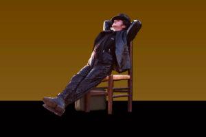 """Roberto Azzurro in """"Scarrafunera"""", di Cristian Izzo, dal 30 novembre al 3 dicembre 2017 al Teatro Elicantropo di Napoli"""