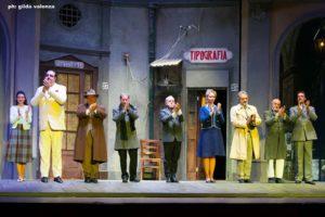 """Gianni Ferreri edAnna Falchi in """"La banda degli onesti"""", dal 14 al 17 dicembre 2017 al Teatro Totò di Napoli"""
