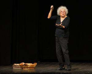 """Grazia Scuccimarra in """"Sono una donna laceroconfusa"""", dal 1° al 25 febbraio 2018 al Teatro degli Audaci di Roma"""