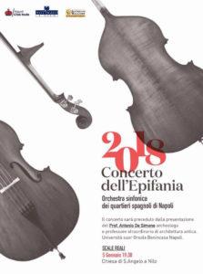 Concerto dell'Epifania dell'Orchestra Sinfonica dei Quartieri Spagnoli di Napoli, il 5 gennaio 2018 presso la Chiesa S. Angelo a Nilo