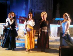 """Il 6 gennaio 2018 """"Canti e Cunti di Mastu Basile"""" con Tiziana Tirrito e Anita Pavone presso la Chiesa di Sant'Agnello Maggiore, Napoli"""