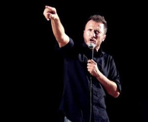 """Giorgio Montanini in """"Eloquio di un perdente"""" il 4 marzo 2018 al Teatro Nuovo di Napoli"""