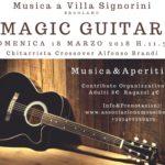 """""""Magic Guitar"""", secondo incontro della nuova rassegna """"Musica a Villa Signorini"""", il 18 marzo 2018 presso Villa Signorini, Ercolano"""
