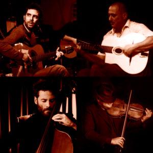 Dario De Luca & Oscar Montalbano 4et feat. Sebastian Peszko, il 21 aprile 2018 al Teatro Nuovo di Napoli