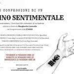 """""""Le confessioni di un assassino sentimentale"""", per la regia di Margherita Caravello, dall'11 al 13 maggio 2018 al Teatro Sala Uno di Roma"""