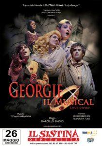"""""""Georgie il musical"""", in esclusiva al Teatro Sistina di Roma, il 26 maggio 2018. L'autore del manga Mann Izawa presente alla serata"""