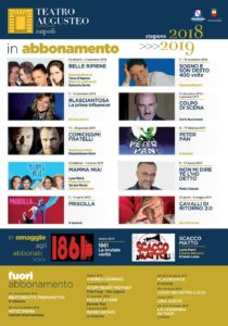 Presentato il cartellone teatrale della stagione 2018/2019 del Teatro Augusteo di Napoli